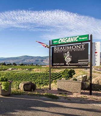beaumonth organic winery